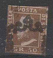 PIA  -  SICILIA : 1859 - Effigie Di Ferdinando II  -  (SAS  7) - Sicily