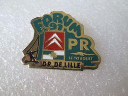 PIN'S    CITROEN    D R  DE LILLE   FORUM 91   P R  LE TOUQUET - Citroën