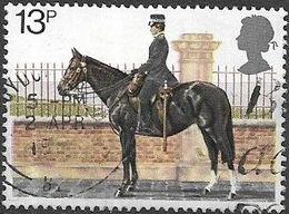 GREAT BRITAIN 1979 150th Anniversary Of Metropolitan Police - 13p - Mounted Policewoman FU - 1952-.... (Elizabeth II)