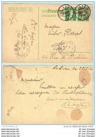 SCHWEIZ SWITZERLAND SUISSE Ganzsache Entier Postal Postcard --- Le Lien - Paris 26.02.10   (9407) - Postwaardestukken