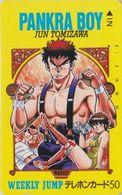 Télécarte Japon / 110-24643 - MANGA - WEEKLY JUMP -  PANKRA BOY / Lutte Catch Wrestling - ANIME Japan Phonecard - 12089 - Cómics