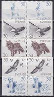 Tr_ Schweden 1968 - Mi.Nr. 621 - 625 - Postfrisch MNH - Tiere Animals - Ohne Zuordnung