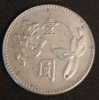 CHINE - CHINA - TAIWAN - 1 YUAN 1973  - KM 536 - Taiwan