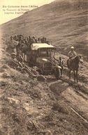 Guerre Au Maroc - Transport De Troupes Dans L'Atlas (camion Sur Rail) - Cpa écrite En 1919 - TBE - 2 Scans - Andere Kriege