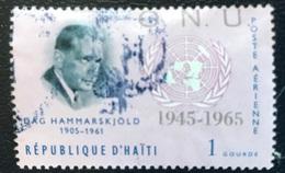 Haïti - A1/18 - (°)used - 1965 - 20 Jaar Verenigde Naties - Haïti