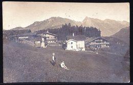FOTOKARTE ÖSTERREICH TIROL * JENBACH * Am 1920 - SELTEN ! Sehe Briefmarken Am Rückseite . - Jenbach