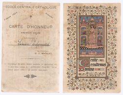 NAMUR   Carte Postale école Place L'ilon   1922 - Diploma & School Reports