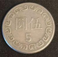 CHINE - CHINA - TAIWAN - 5 YUAN 1981  - KM 552 - Chiang Kai-shek - Taiwan