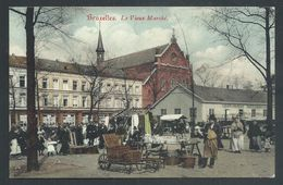 +++ CPA - BRUSSEL - BRUXELLES - Le Vieux Marché  // - Mercati