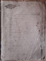Livret, Ensemble De 20 CARTES GÉOGRAPHIQUES, Mappemonde, Europe Pays Et Autres Continents. A M. PERROT 1824 RARE - Maps/Atlas