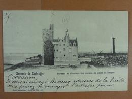 Souvenir De Zeebrugge Bureaux Et Chantiers Du Canal De Bruges - Zeebrugge