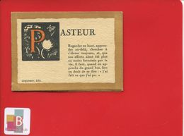 Mini Calendrier 1923 Savant Pasteur Citations Edit Coquemer - Kalenders