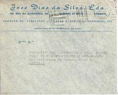 Mechanical Postmark  ZONAS POSTAIS , 1972 ,  JOSÉ DIAS SILVA ,  Aurificia - Postmark Collection