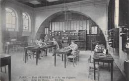 ENSEIGNEMENT ECOLES - 75 - PARIS 1er - Ecole BREGUET 81/89 Rue Falguière - Salle Des Mesures - CPA - Seine - Formación, Escuelas Y Universidades