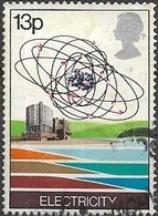 GREAT BRITAIN 1978 Energy Resources - 13p - Electricitynuclear Power Station And Uranium Atom FU - 1952-.... (Elizabeth II)