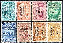 !■■■■■ds■■ St.Thomas 1913 AF#183-190* Vasco Da Gama On Macao Set (x1343) - St. Thomas & Prince