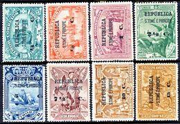!■■■■■ds■■ St.Thomas 1913 AF#191-198* Vasco Da Gama On Timor Set (x7096) - St. Thomas & Prince