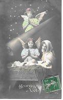 Angel, Engel, Ange, Angelo, Baby Jesus In The Manger, Bébé Jésus Dans La Crèche, Jesuskind In Der Krippe - Altri