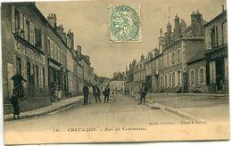 - 58 -NIEVRE-CHATILLON-Rue Du Commerce - Chatillon En Bazois