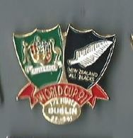 Rugby Coupe Monde 1991 1/2 Finale Paris 27.10.91 Australie Nouvelle Zelande - Rugby