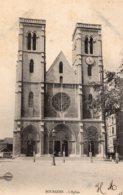 B68927 Cpa  Bourgoin - L'Eglise - Bourgoin