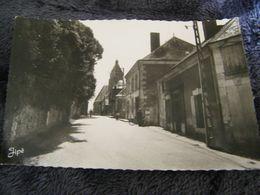 C.P.A.- La Chapelle Gaugain (72) - Entrée Du Bourg - Route De Vancé - 1940 - SUP - (DG 23) - France
