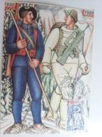 25 Juin1988 Premier Jour , Non Circulé Non écrite Troupes Alpines. - Régiments