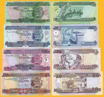 Solomon Islands Set 2, 5, 10, 20 Dollars UNC Banknotes - Salomons