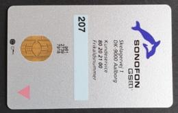 Old Sonofon GSM Card - Denmark