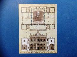 2008 Vaticano Foglietto Nuovo Stamp New MNH** - 5° Centenario Nascita Andrea Palladio - - Blocs & Feuillets
