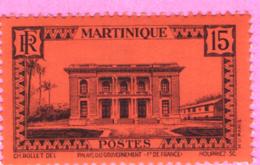 PALAIS DU GOUVERNEUR N°192 YT - Martinica (1886-1947)