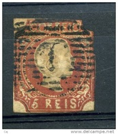 Portugal  :  Yv  5  (o) - 1855-1858 : D.Pedro V