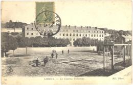 CPA 14 - 49. LISIEUX - La Caserne Delaunay - ND - Lisieux