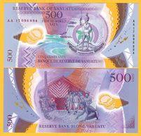 Vanuatu 500 Vatu P-12 2017 UNC Polymer Banknote - Vanuatu