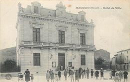 CPA 34 Hérault Mauguio Hôtel De Ville - Mauguio