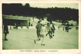 FR66 FONT ROMEU - Sports D'Hiver - La Patinoire - Animée - Belle - Andere Gemeenten