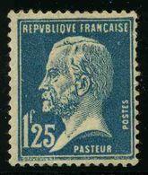 FRANCE - YT 180 * - PASTEUR - 1 TIMBRE NEUF * - 1922-26 Pasteur