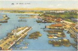 CPA - ALGERIE - 30. ORAN - Le Port - Oran
