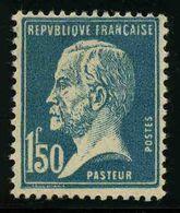 FRANCE - YT 181 * - PASTEUR - 1 TIMBRE NEUF * - 1922-26 Pasteur