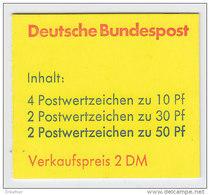 BRD Markenheftchen MH 21 B OZ, Postfrisch **, Burgen Und Schlösser 1977 - Markenheftchen