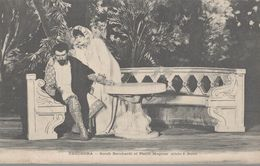 THEODORA  SARAH BERNHARDT ET PIERRE MAGNIER - Theatre
