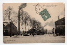 - CPA COMMENTRY (03) - Vue Intérieure De L'Usine 1919 - Allée Principale - Entrée De L'Usine - Edition Rouyat - - Commentry
