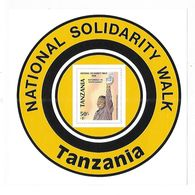 Tanzania 1988 National Solidarity Walk S/S MNH - Tanzania (1964-...)