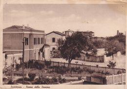 Cartolina Di Portotorres ( Sassari ) Piazza Della Stazione - Sassari
