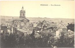 CPA - 34 - PEZENAS - Vue Générale - Pezenas