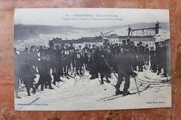 GERARDMER (88) - GRANDE SEMAINE - DEPART DE LA COURSE A SKIS POUR JEUNES GENS - Gerardmer