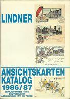Lindner Ansichtskarten-Katalog 1986/87 Incl. Propagandatanteil + Bewertungen #Rarität - Catalogues