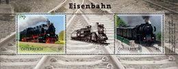 Austria - 2020 - Railways And Steam Locomotives - Mint Souvenir Sheet - 2011-.... Ongebruikt