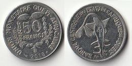 Pièce De 50 Francs CFA XOF 2016 Origine Côte D'Ivoire Afrique De L'Ouest - Ivory Coast