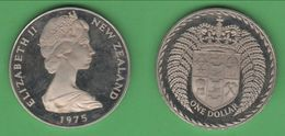 Nuova Zelanda Dollar 1975 New Zeland Nouvelle Zélande - Neuseeland